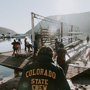 Crew at dock