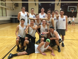 Team photo of Men's Volleyball participants.