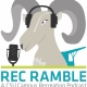 The logo for Campus Recreations first podcast, Rec Ramble.